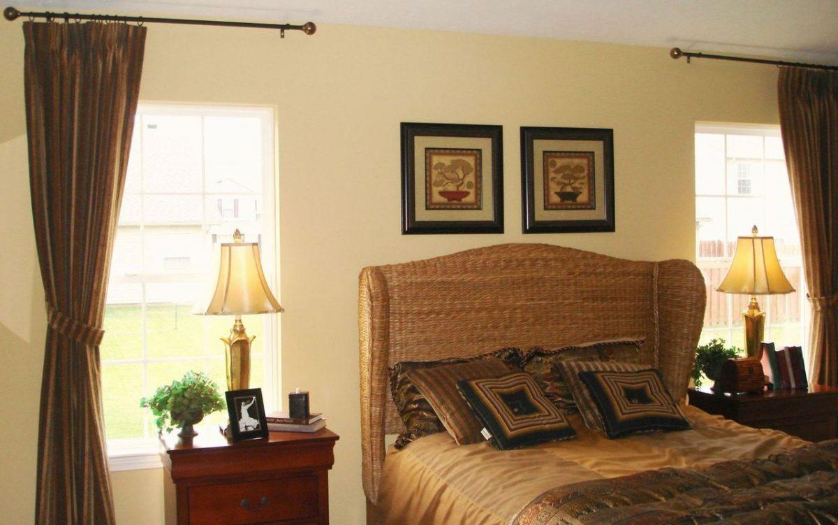 Dekoracja wnętrz i strefa wokół łóżka