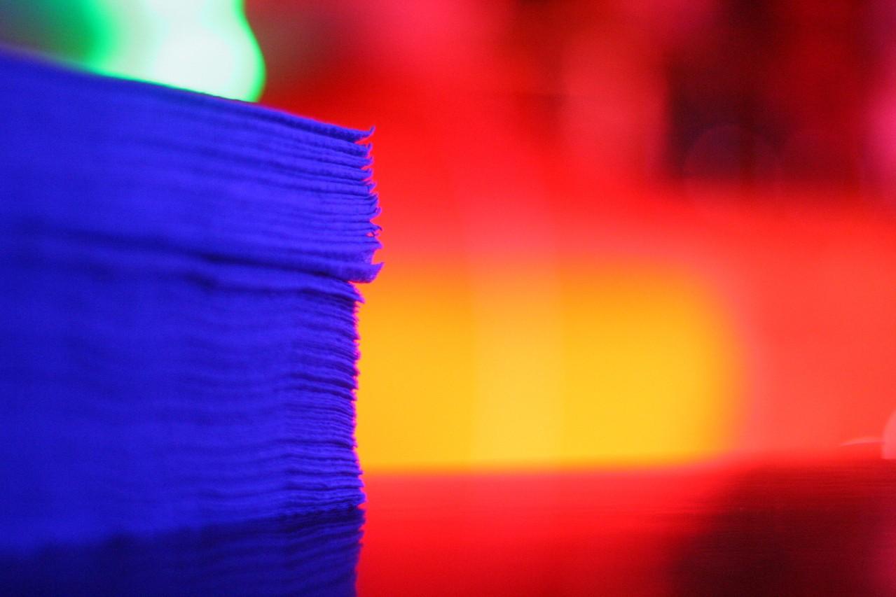 Dekoracje na tkaninie metodą decoupage